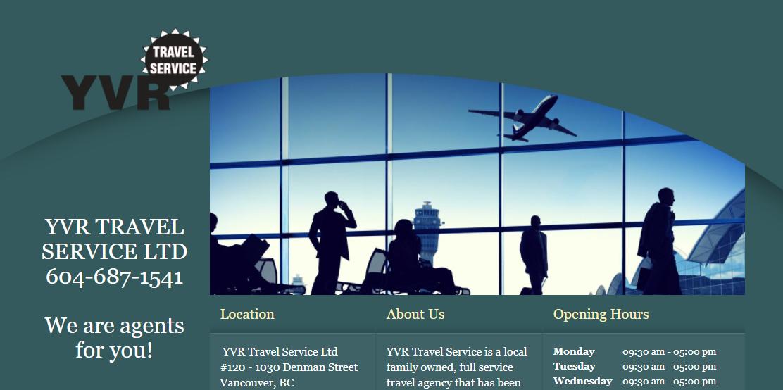 YVR Travel Service