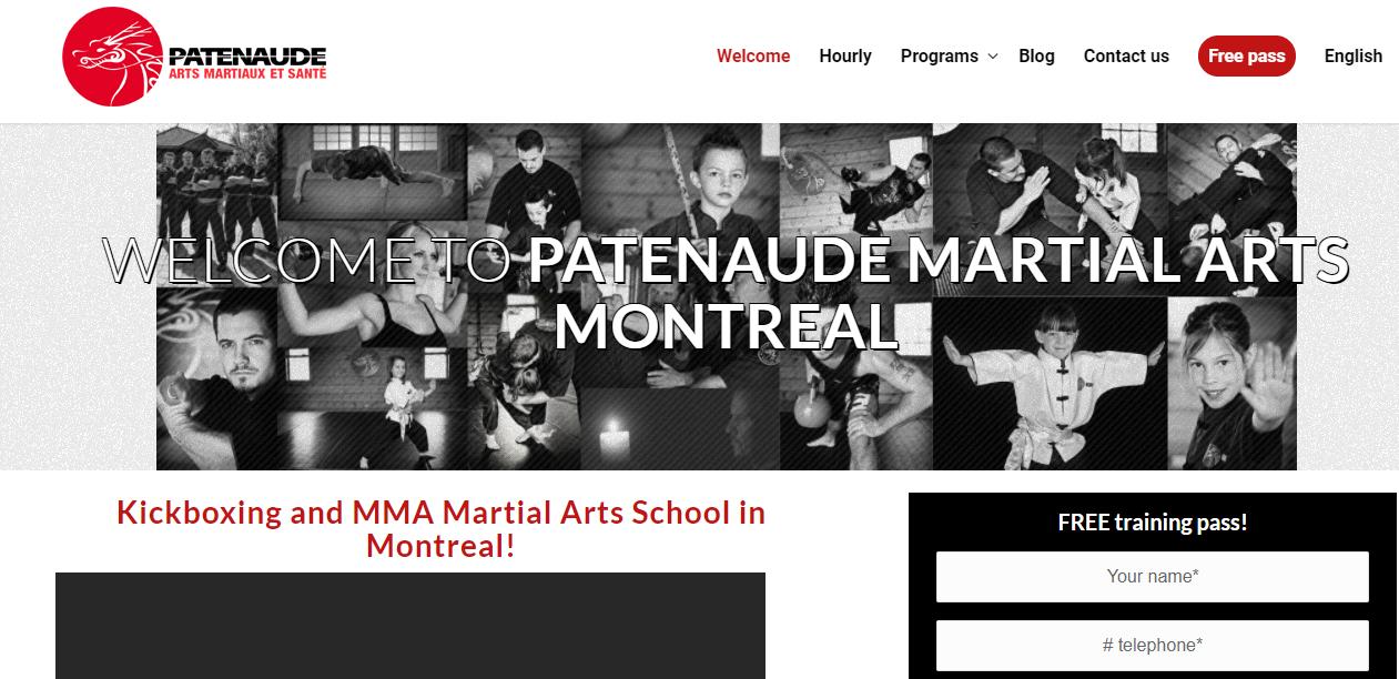 Arts Martiaux Patenaude Montréal