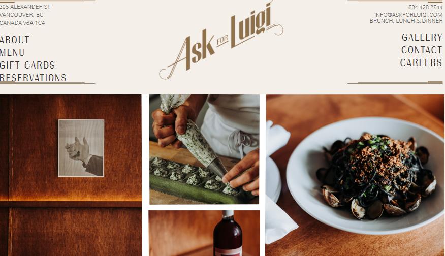 Ask For Luigi Restaurant