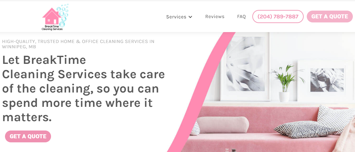 BreakTime Cleaning Services