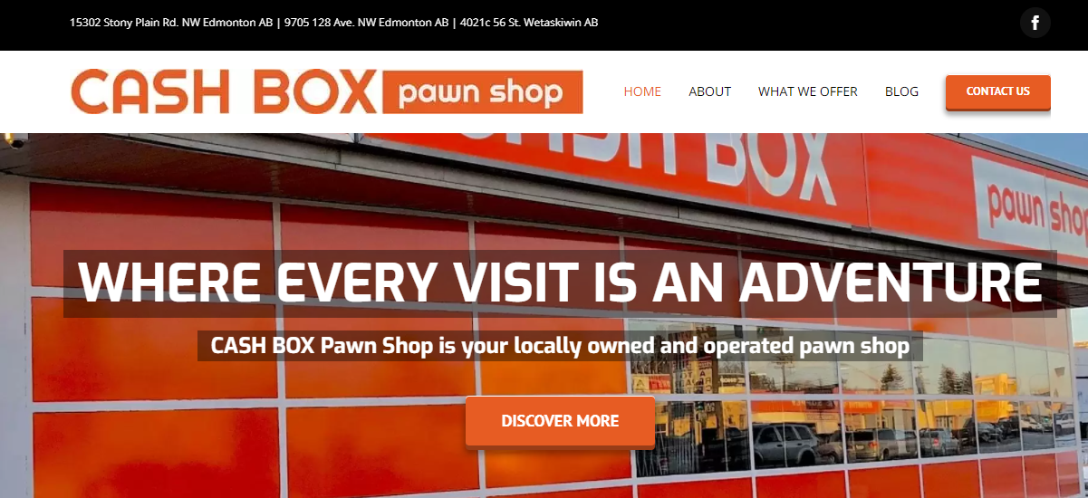 Cash Box Pawn Shop