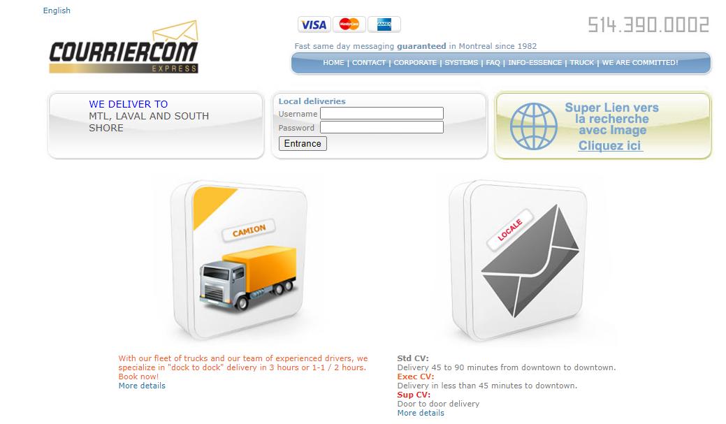 Courriercom Express
