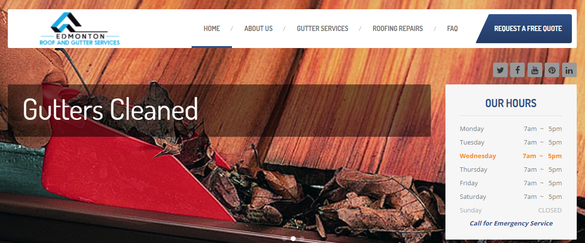 Edmonton Roof and Gutters Services