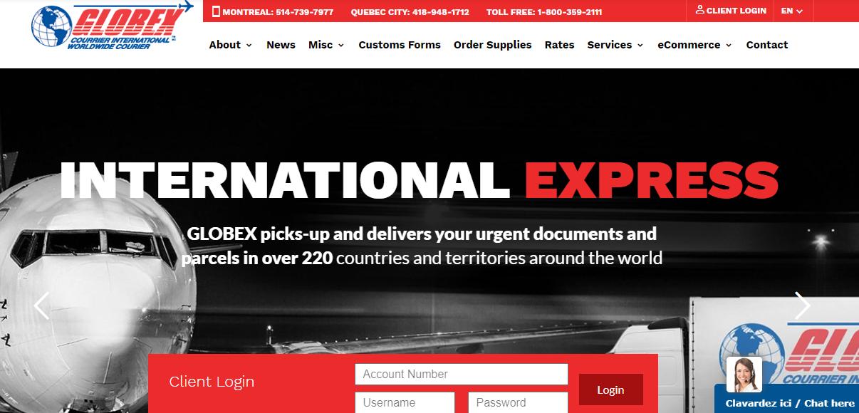 Globex Worldwide Courier
