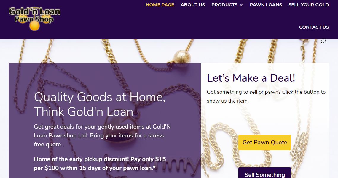 Gold'n Loan Pawn Shop Ltd