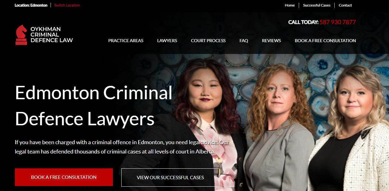 Oykhman Criminal Defence Law Edmonton