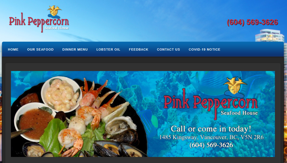 Pink Peppercorn Seafood House