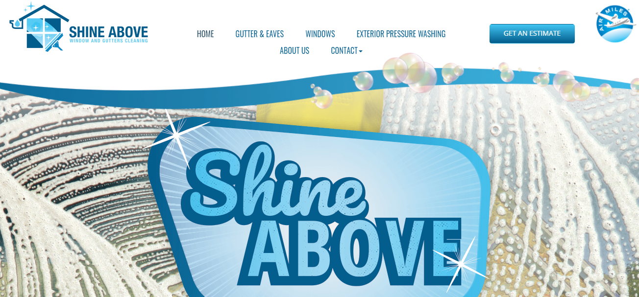 Shine Above Windows and Gutter Cleaning