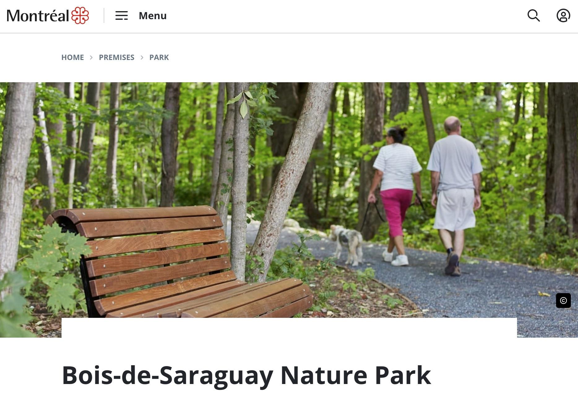 Bois-de-Saraguay Nature Park