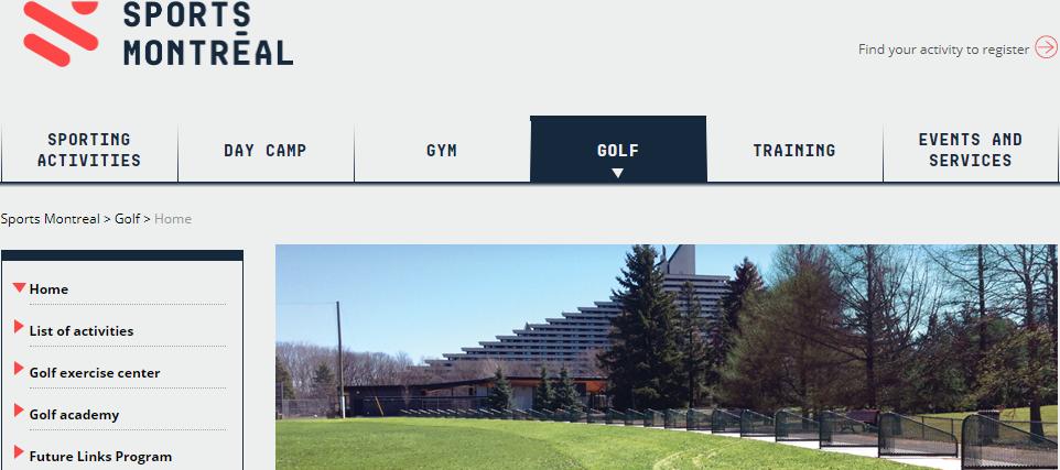 Centre D'exercice De Golf Sports Montréal