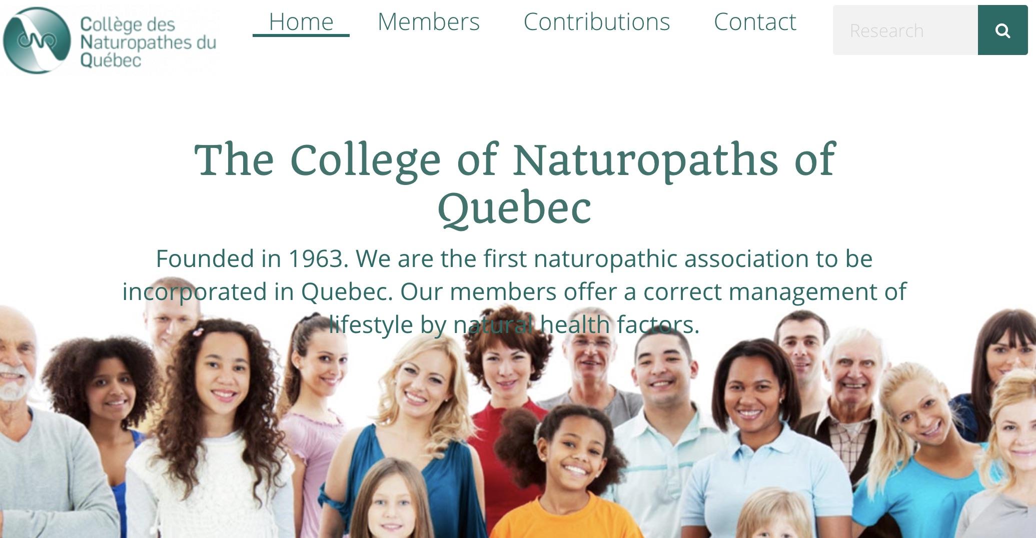 Collège des Naturopathes du Québec