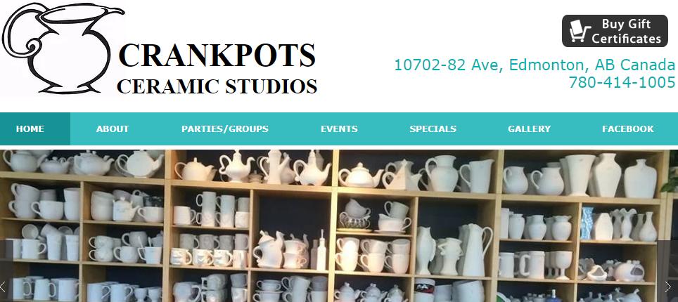 Crankpots Ceramic Studio