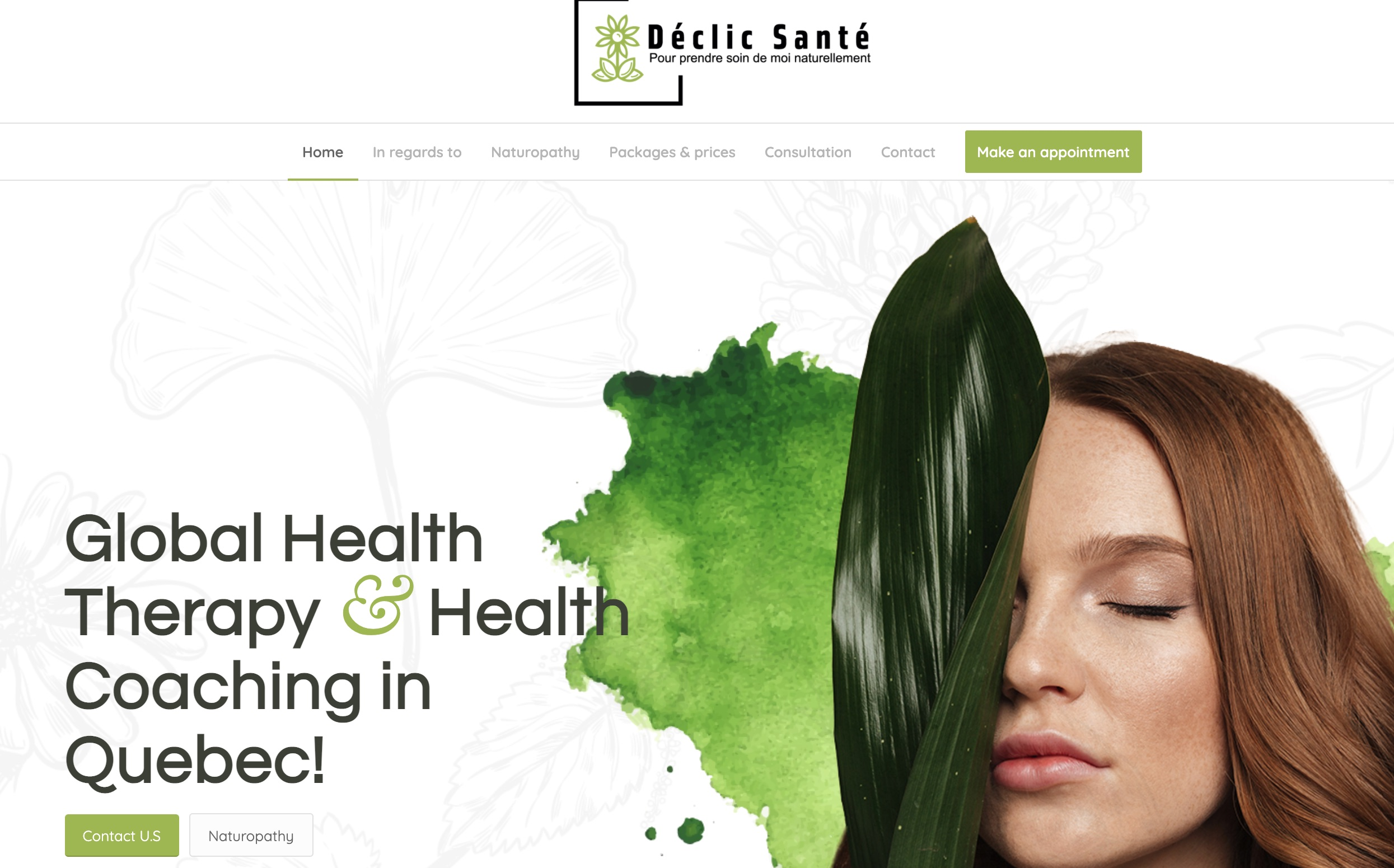 """Déclic Santé - Naturopathe Naturothérapeute - Thérapie en santé global was established and managed by Isabelle Becqueriaux. She has proudly worked in the field of health for more than thirty years, gaining a wealth of expertise. Collège des Médecines Douces du Québec awarded her a degree in neuropathy (CMDQ). She was finally recognized as a Naturopath, ND, and received her diploma. This company is run on the belief that each individual is unique, and that we must protect this """"vitality capital"""" that is unique to each of them. In a systemic process, it is their responsibility to work with the individual as well as the health actors who surround them."""