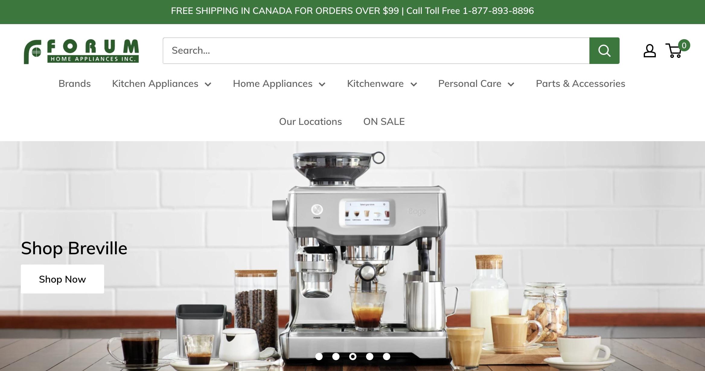 Forum Home Appliances Inc