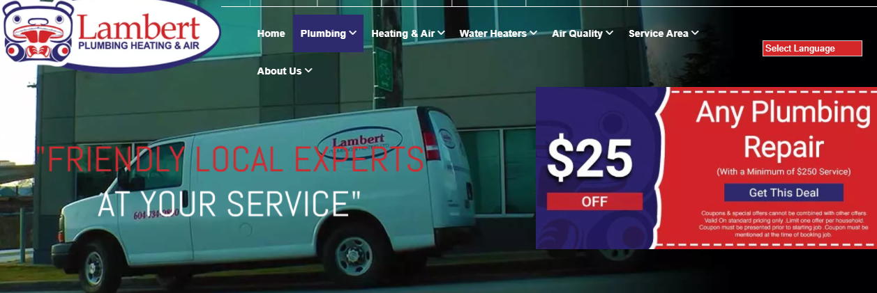 Lambert Plumbing & Heating, Ltd