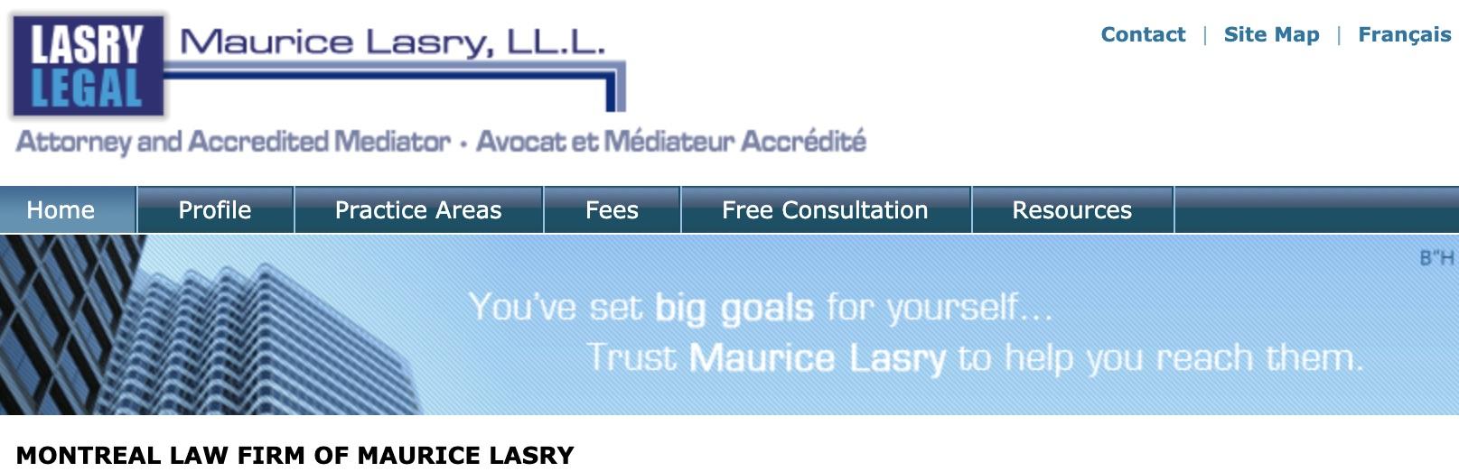 Maurice Lasry - Avocat et Médiateur accrédité | Attorney and Accredited Mediator