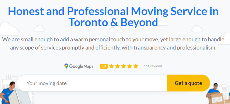 Miracle Movers Toronto