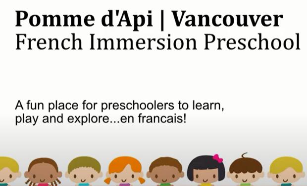 Pre-Maternelle Pomme D'api Vancouver Preschool