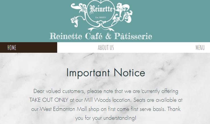 Reinette Café & Patisserie