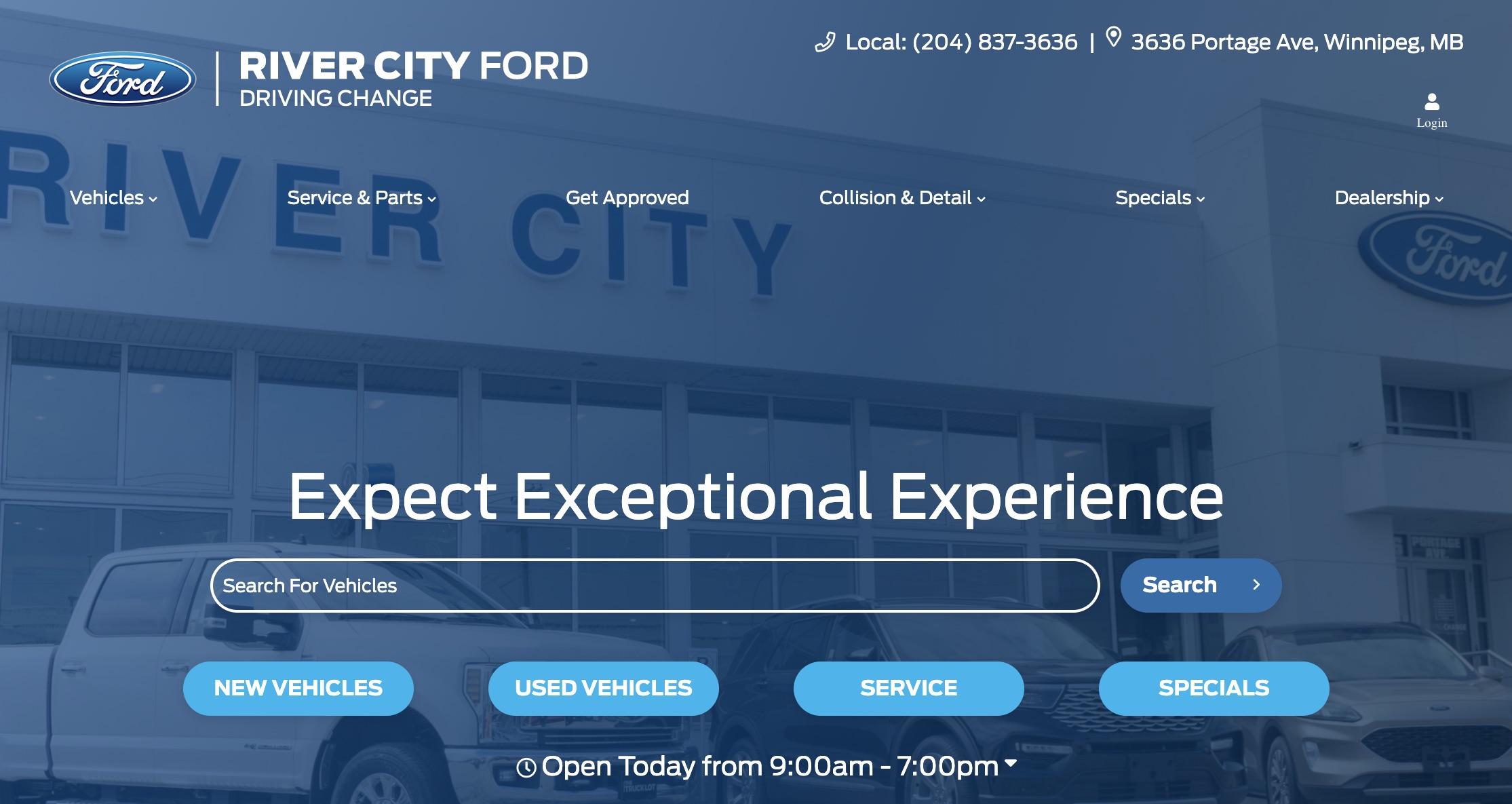 River City Ford Sales Ltd