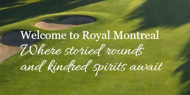 The Royal Montreal Golf Club