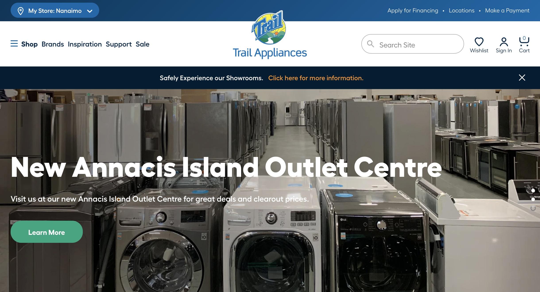 Trail Appliances - Vancouver